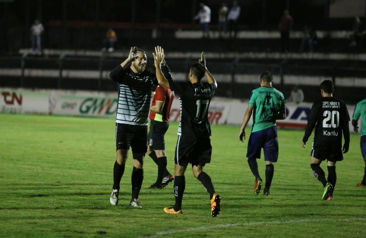 Schumacher (foto) fez o segundo gol da vitória do Operário.